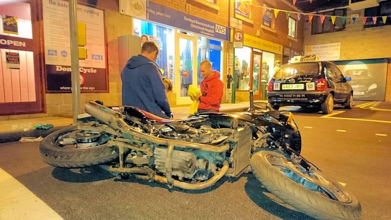 Dorset DocBike Biker Down course