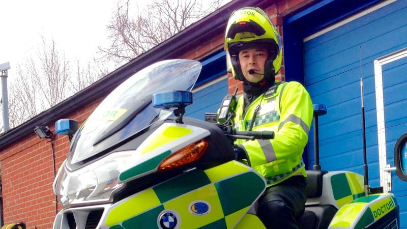 DocBike responds to 999 call