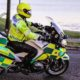 Police motorcycle test passed by Dr Ian Mew