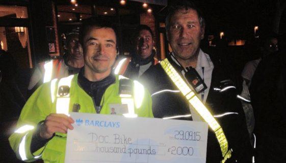 Poole Bike Night & Dream Machines DocBike donation
