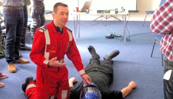 Weymouth Biker Down teaches emergency first-aid
