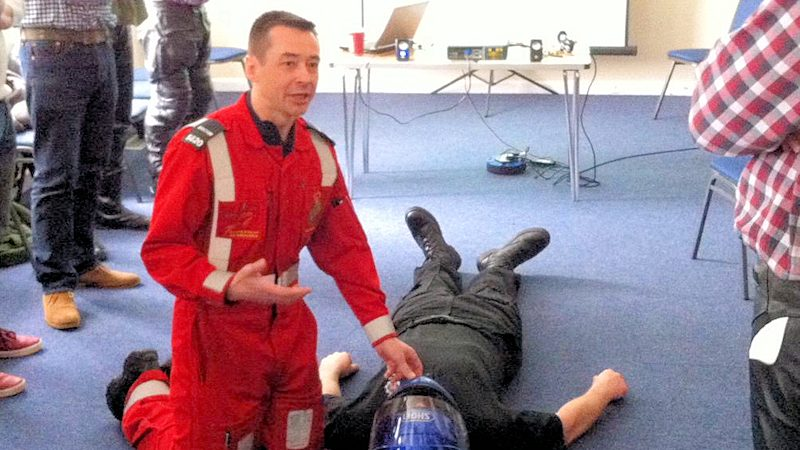 Weymouth Biker Down teaches emergency first-aid