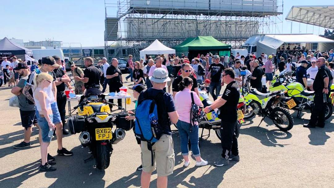 Highways England Motorcycle Safety team BSB 2019
